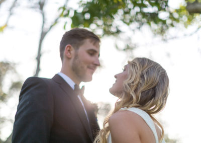 Walnut Grove Bride Kiss