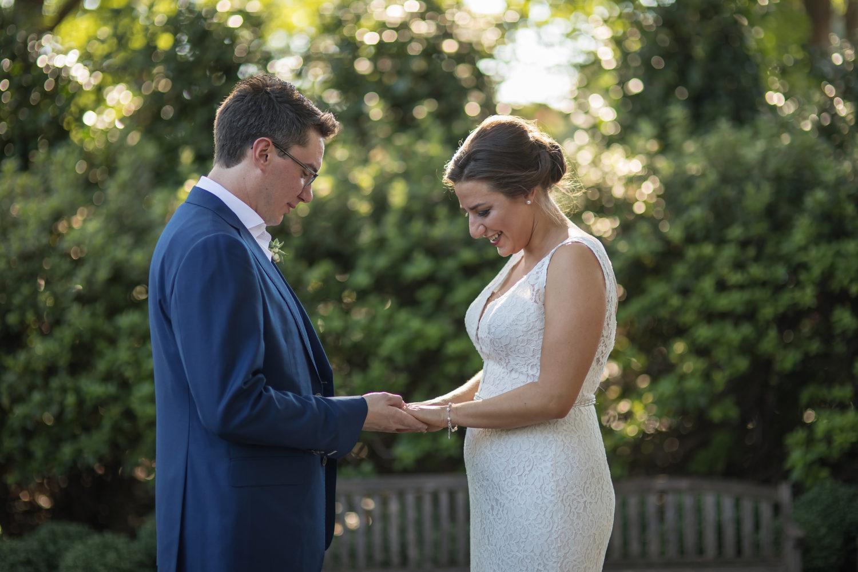 Bride and Groom Dallas Arboratum