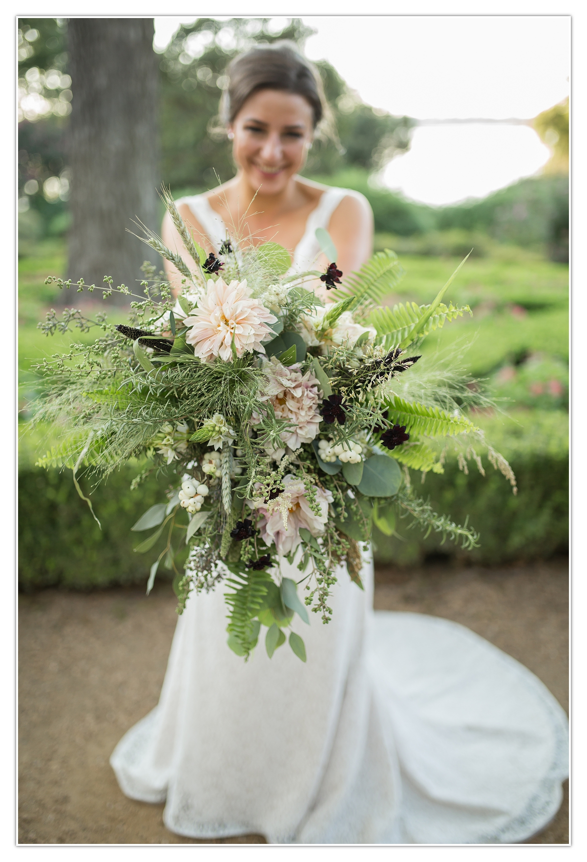 Unique Bridal bouquet dallas texas