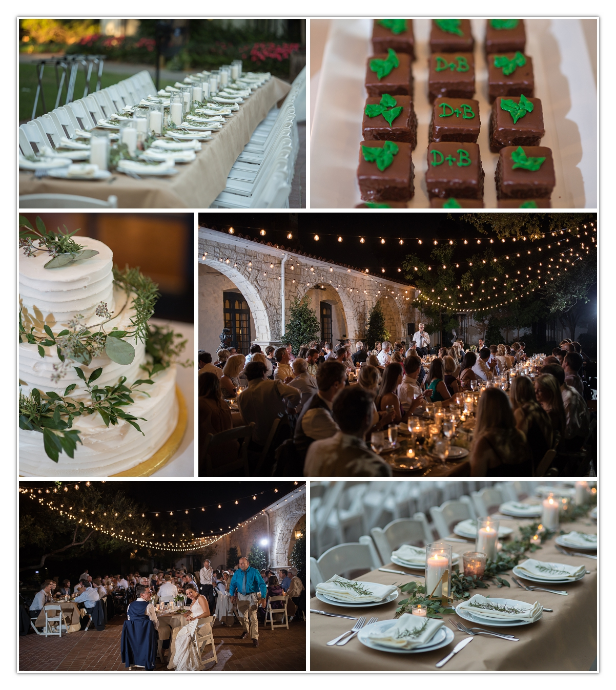 wedding cake toasts reception dallas